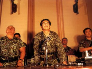 General Rios Montt during his dictatorship